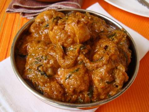 Andhra cuisine methi-chicken