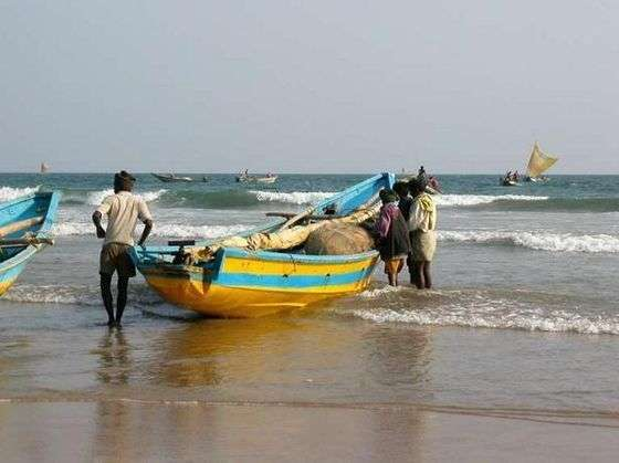 Beaches in Orissa, Konark Beach