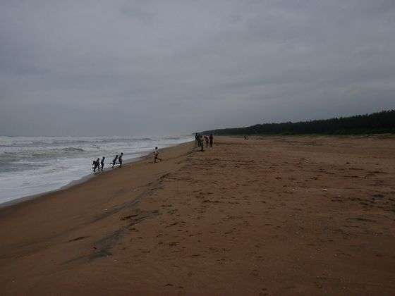 Beaches in Orissa, Pati Sonapur Beach
