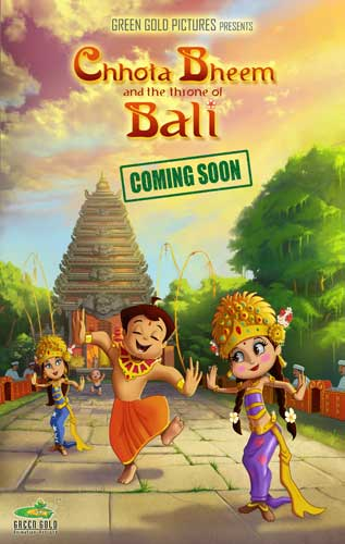 Chhota Bheem And The Throne of Bali Trailer
