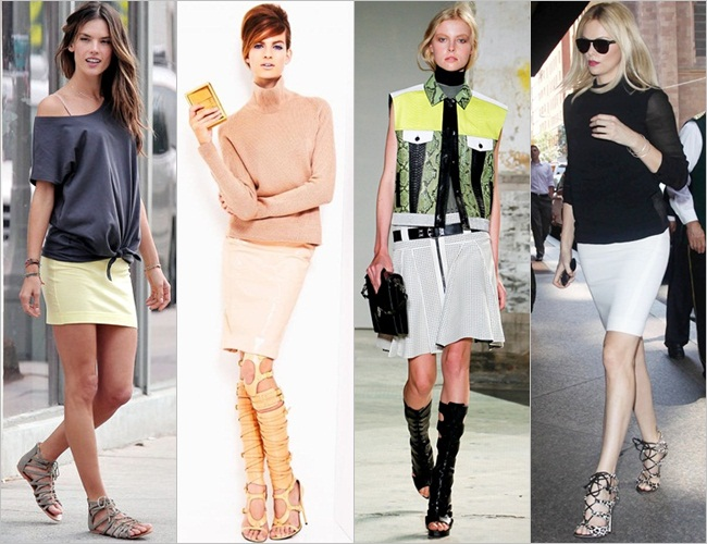 Gladiator-sandals-with-skirts