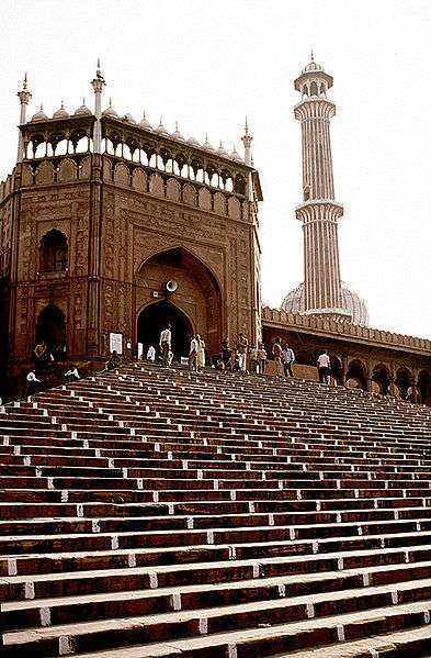 Jama Masjid Old Mosque Steps
