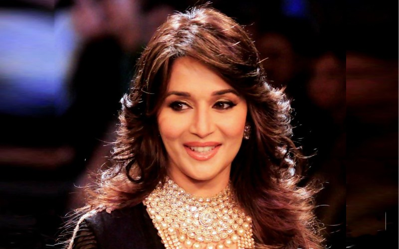 Madhuri Dixit after Botox treatment