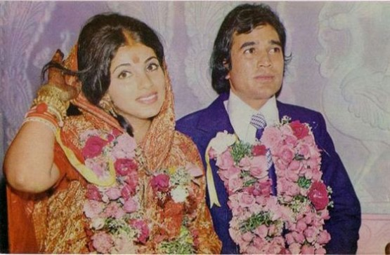 Dimple Kapadia wedding