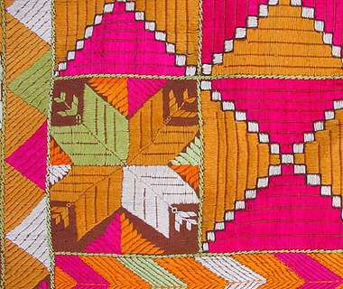 Phulkari The Traditional Embroidery Of Punjab India