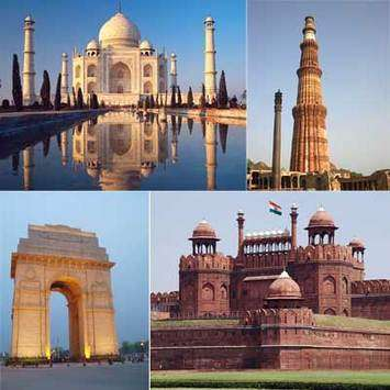 Take a glimpse of the Golden Triangle Tour of India