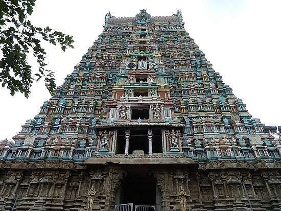 Tallest temple Gopuram