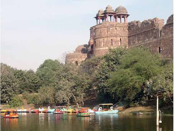 Things To Do in Delhi With Kids, Purana Qila