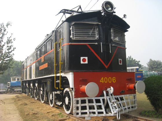 Things to do in Delhi with kids, National Rail Museum