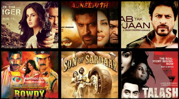 Top 10 Biggest Box Office Hits 2012