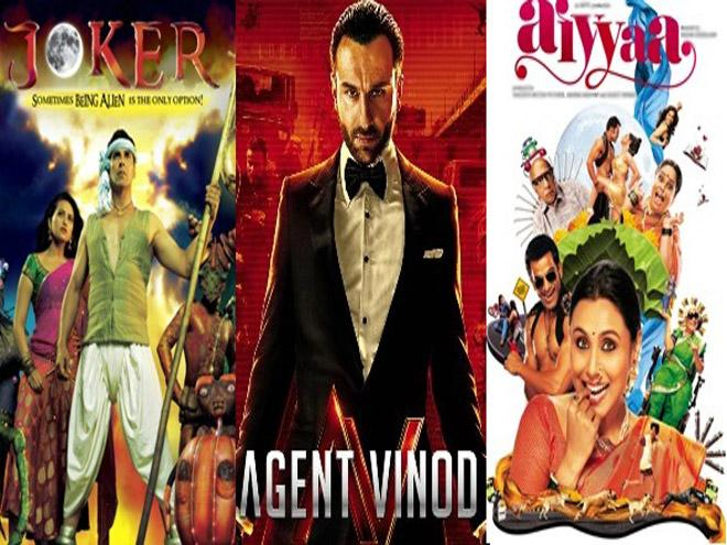 Top 10 Bollywood flops of 2012