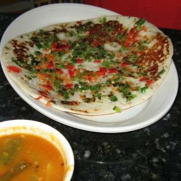 Uttapam or Uttappa - The Indian Pizzas