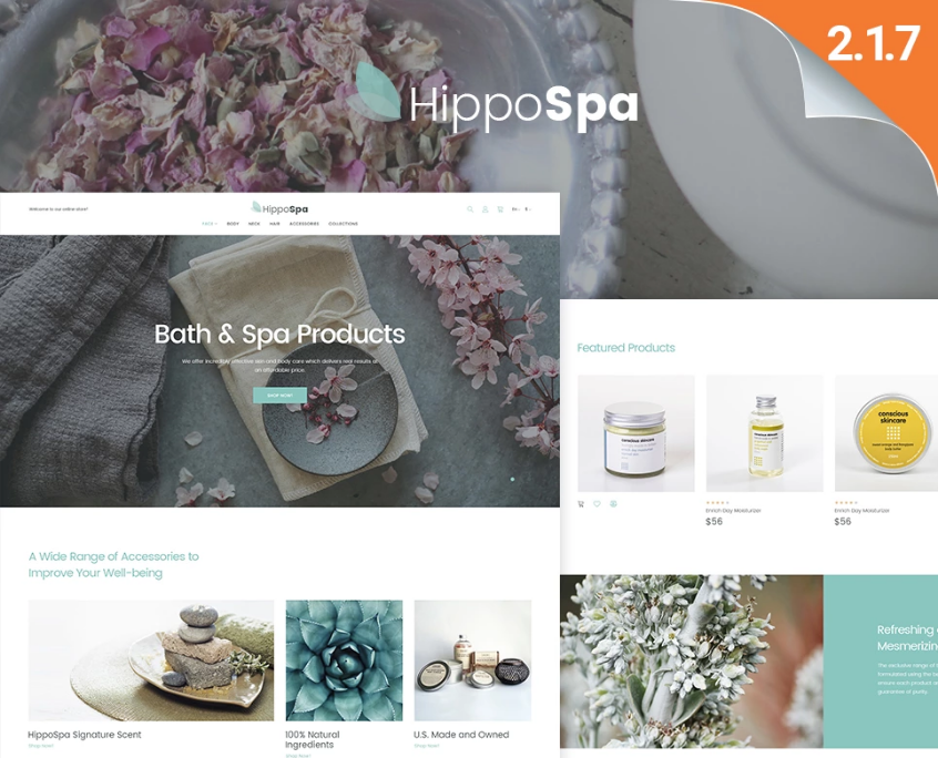 Magento Beauty Theme