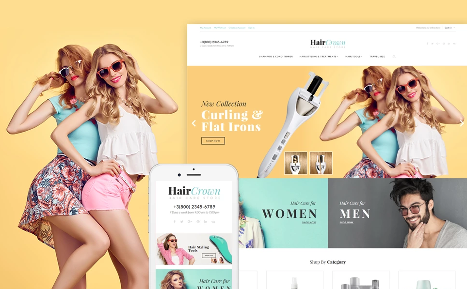 Responsive Cosmetics & Beauty Magento Themes