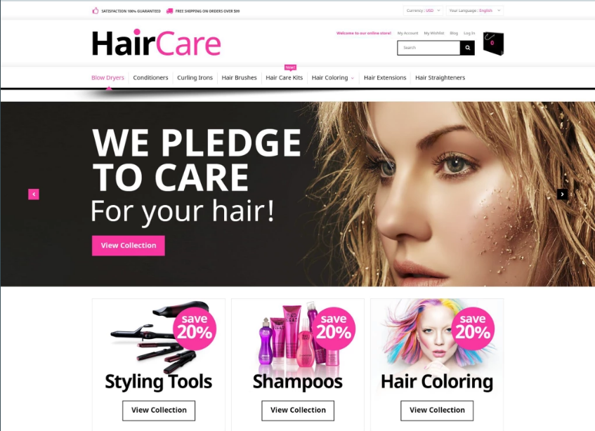 Beauty Magento Responsive Theme