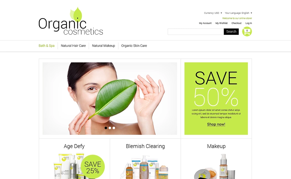 Beauty Store Premium Magento Theme