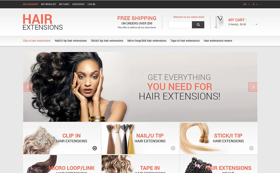 Hair & Beauty Magento Themes