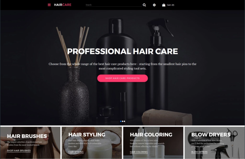 Beauty Store Responsive OpenCart Theme