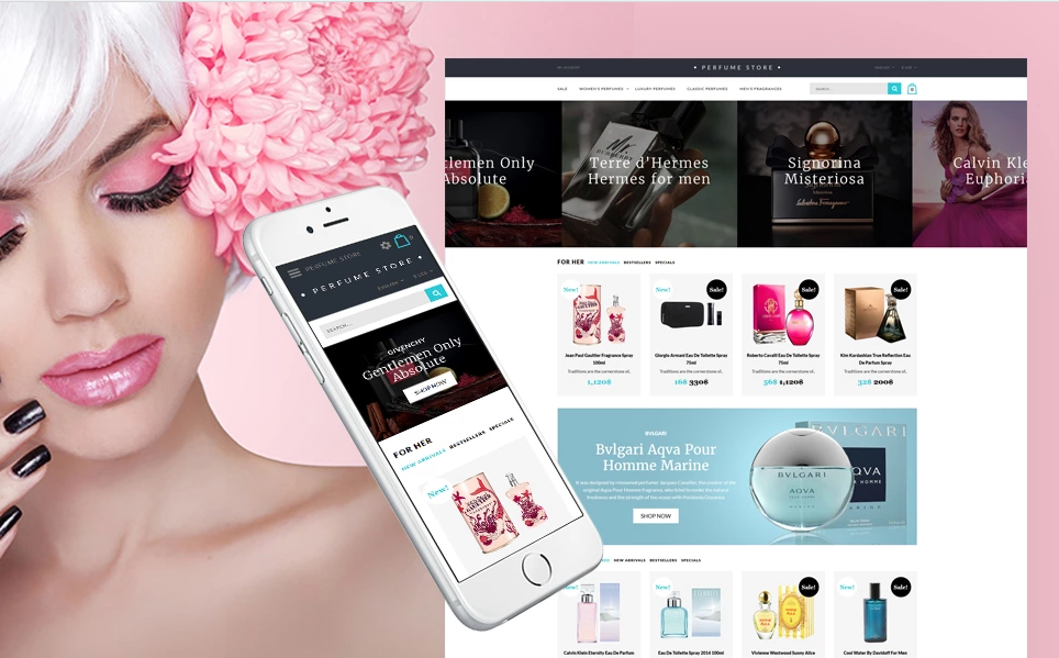 beauty shop opencart theme