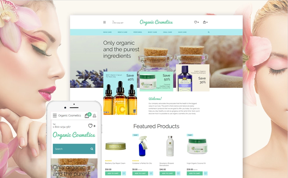 OpenCart Beauty Theme