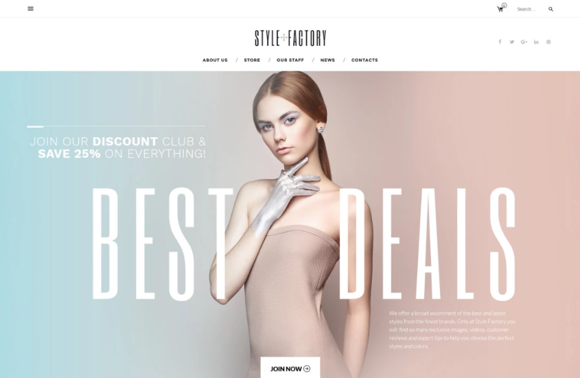 Beauty Store WooCommerce Theme