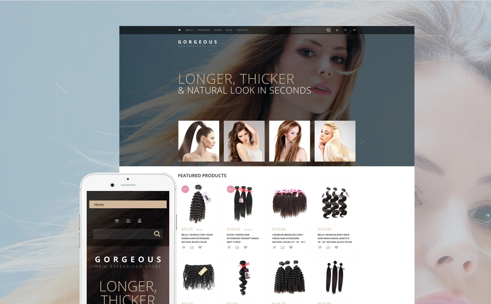 WordPress WooCommerce Beauty Store Theme