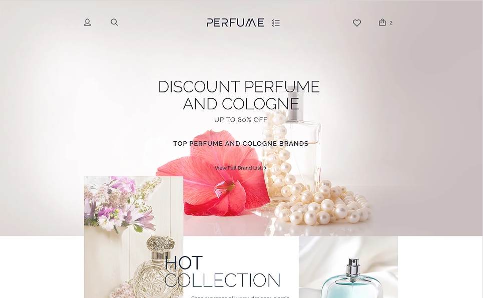 Beauty Store WordPress WooCommerce Theme