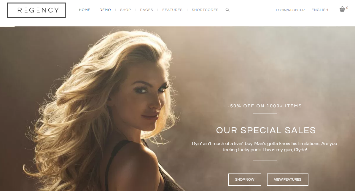 Beauty WooCommerce Template