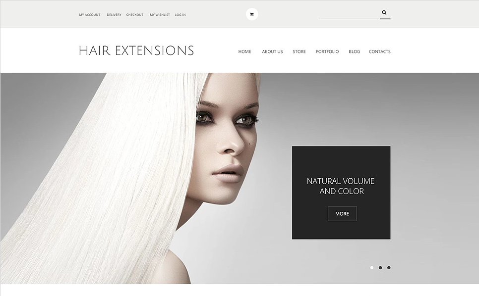 100% Responsive Beauty WordPress Theme