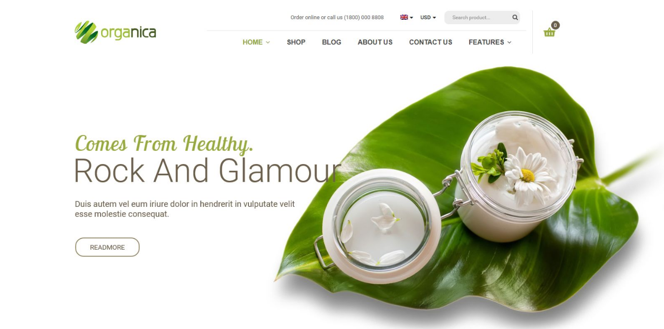 Beauty Store WP Theme