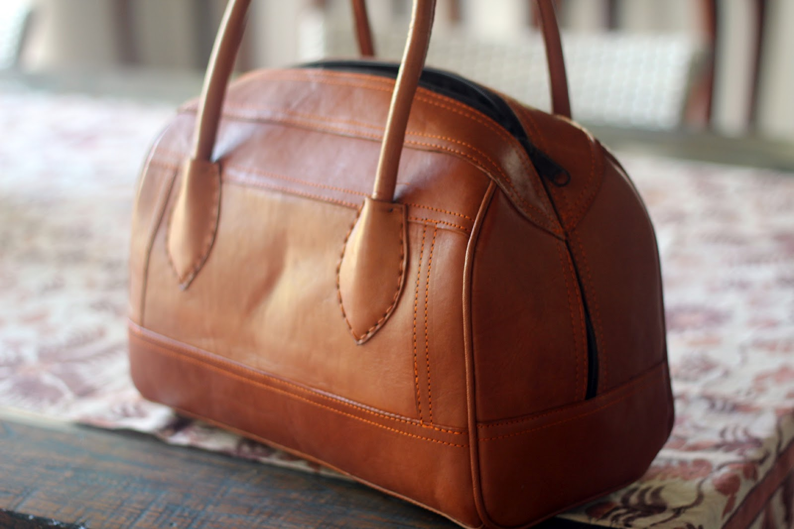 care for leather handbags