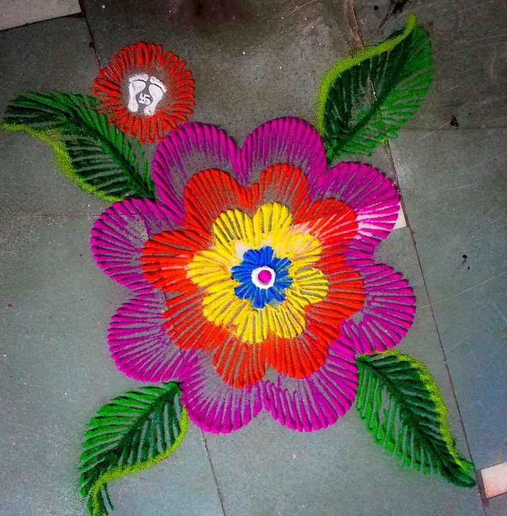25 Beautiful and Easy Rangoli Designs for Diwali - Indiamarks