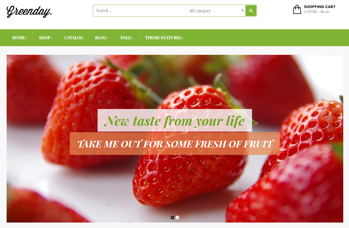 Fruit Shop Shopify Template