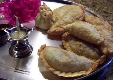 Gujiya karanji a popular indian sweet dish gujiya karanji a popular indian sweet dish gujiya recipe forumfinder Choice Image