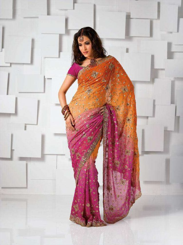 how to wear saree