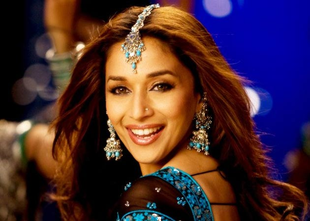madhuri dixit before Botox treatment