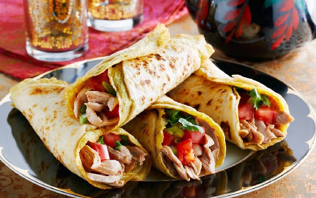 Recipe for chicken kathi roll indiamarks forumfinder Image collections