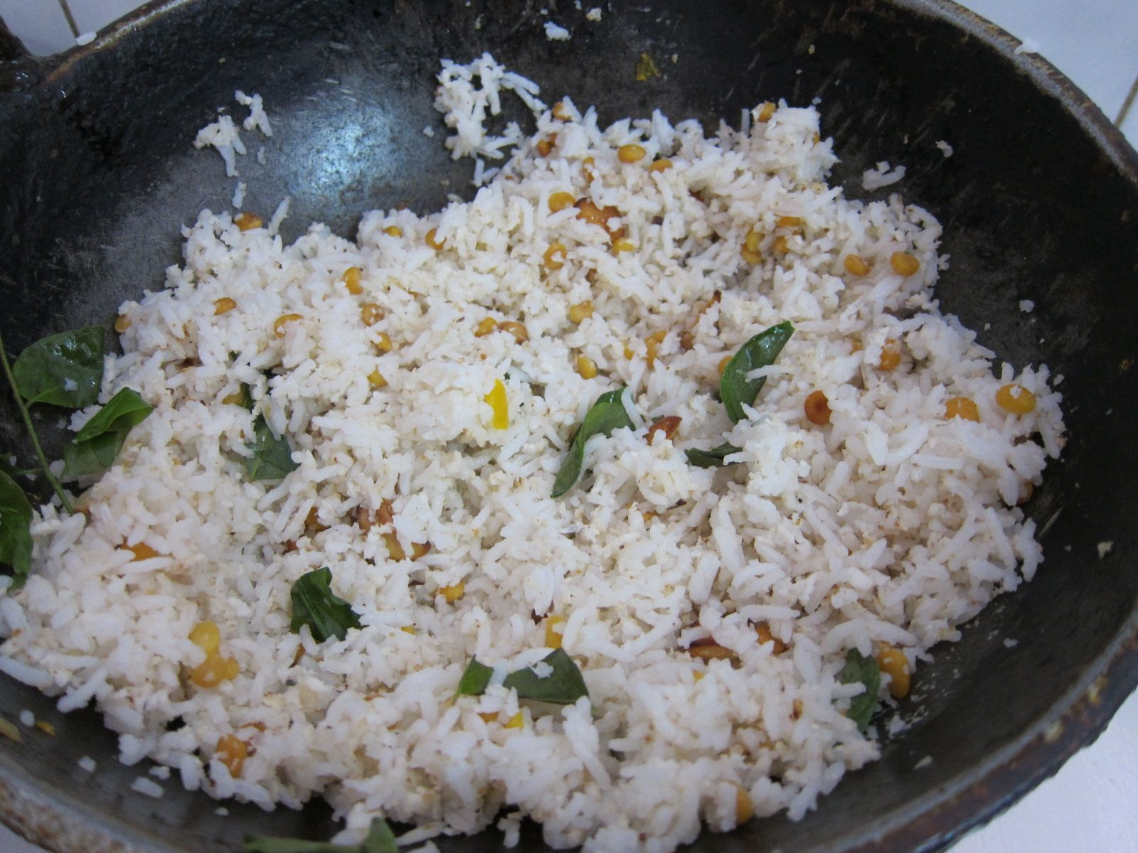 here is the authentic coconut rice recipe coconut rice