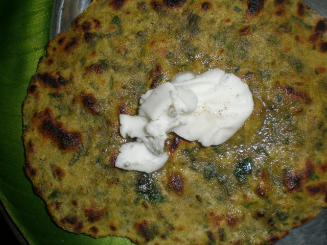 Image result for methi paratha