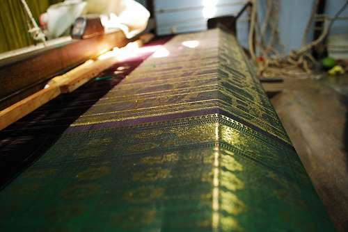 silk making in India