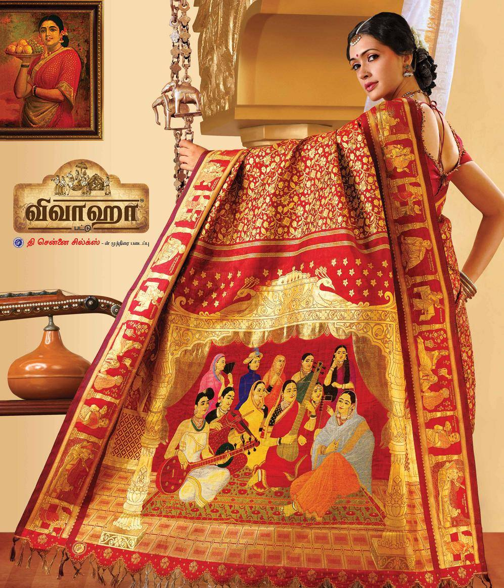 Most expensive sari in the world a record set by chennai silk