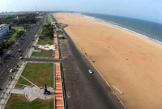 Beaches in Tamil Nadu, Marina Beach