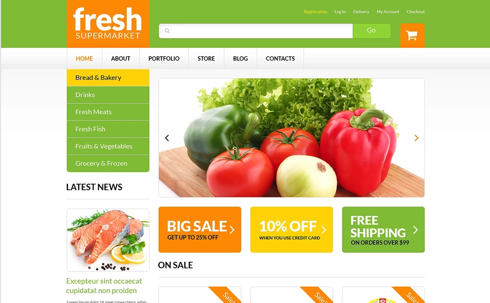 WordPress Themes for Fruit Stores