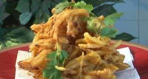 Lip smacking Onion Bhajiye