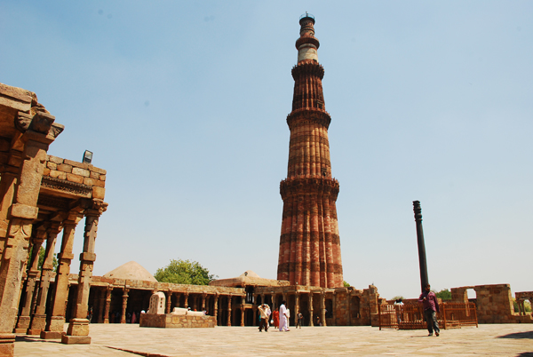 Qutub Minar The Fluted Red Sandstone Tower Of Delhi