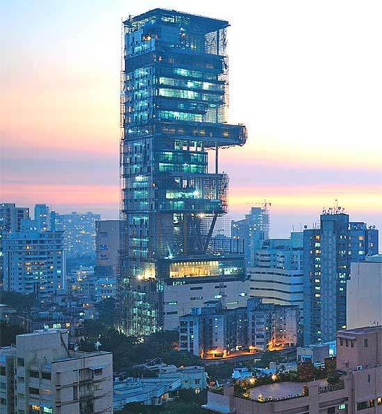 Mumbai Claims World's Largest And Most Expensive Residence