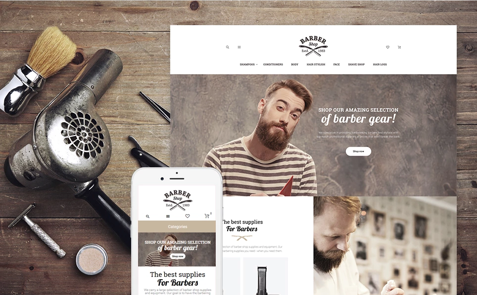 Beauty Cosmetic Store Magento Themes
