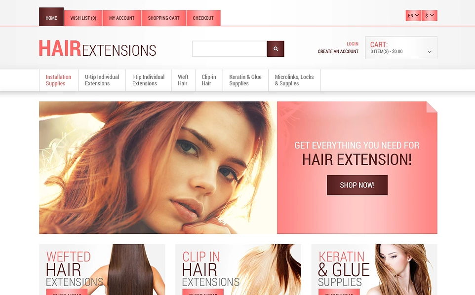 Responsive Opencart Theme for Beauty store