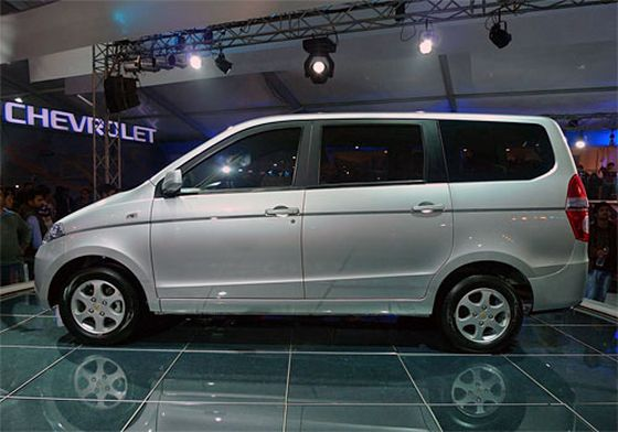 soon to launch MPV in India, chevrolet-enjoy