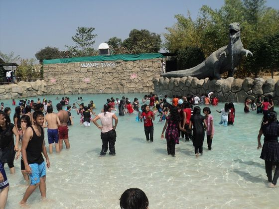things to do in Pune with kids, Krushnai Water Park Pune